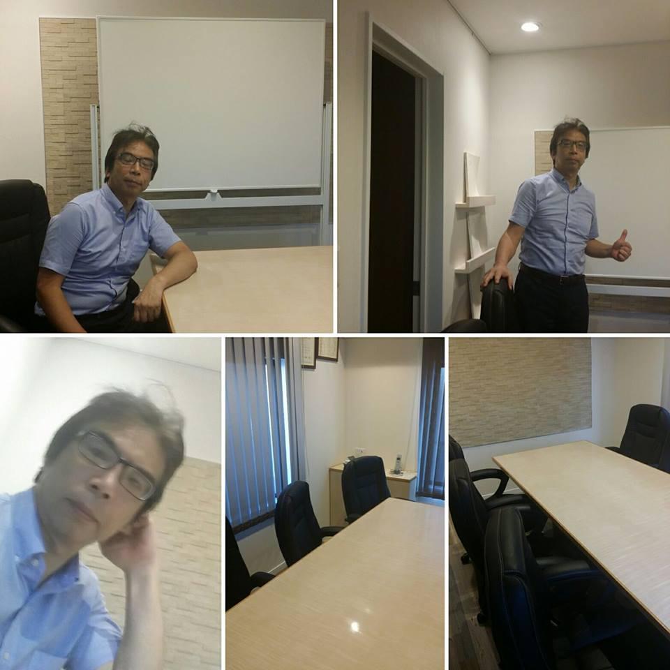 会議室を新しくしました。小セミナー等開催して行きたいと思います。